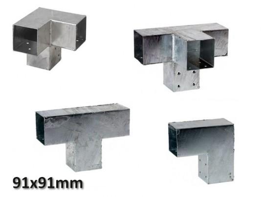 Pergola hoekverbinding 91x91mm