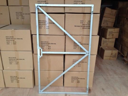 Verstelbaar poortframe met slotkast