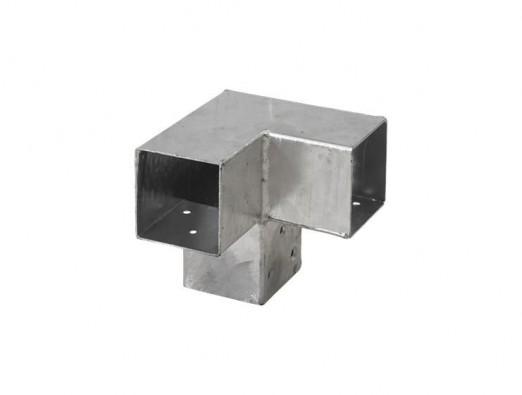 Pergola Hoekverbinding - dubbele hoek - 91x91 mm
