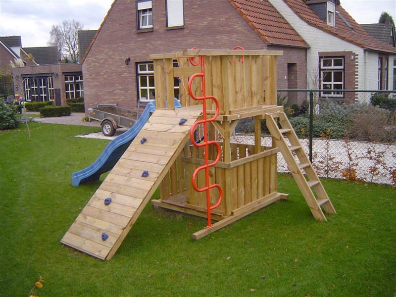 Speeltoestel Kleine Tuin : Speeltoestel op maat